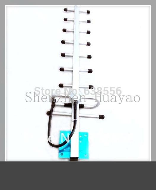 Precio de fábrica!! GSM CDMA 9 segmentos 13dbi antena yagi con 3 M cable