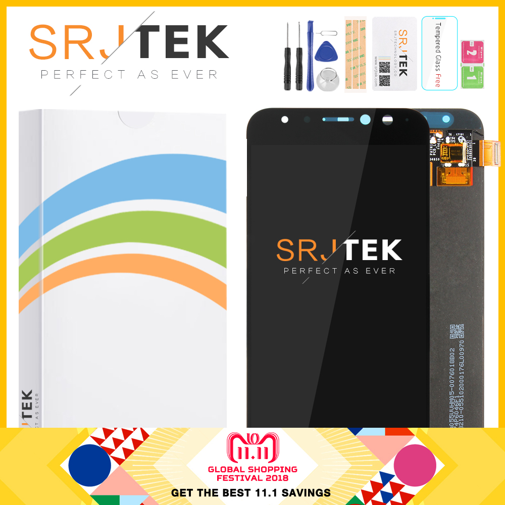 SRJTEK Affichage ZD552KL Pour Asus Zenfone 4 Selfie Pro ZD552KL LCD Affichage à L'écran Tactile Digitizer Verre Matrice Z01MD Z01MDA