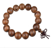 Hot explosion models wenge beads bracelet wooden bracelets Men Women Muzhu diameter 12mm. 15mm. 18mm. 22mm