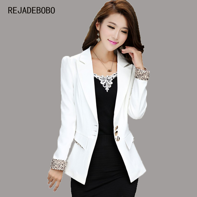 Aliexpress.com : Buy Spring 2017 New Fashion White Blazer For ...