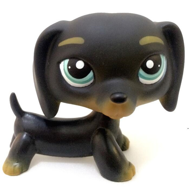 MOANA-LPS Pet Shop Dachshund Dog Child Girl Figure Littlest Toy Loose LP850 lps new style lps toy bag 32pcs bag little pet shop mini toy animal cat patrulla canina dog action figures kids toys