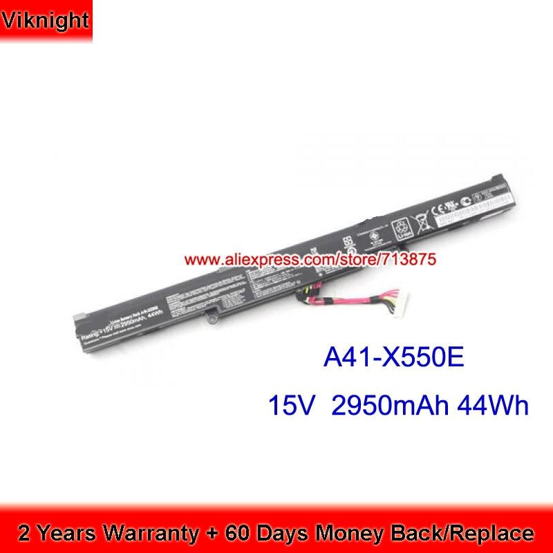 Original X550 A41-X550E Laptop Battery For ASUS A450 X751L F552CL K550E X450 X450J X450JF 4 cell a41 x550e battery for asus r752lj r752ld r752lb r752m r752l r751j x751m f450e x450e x450 x550 x550e x751l x751m page 9