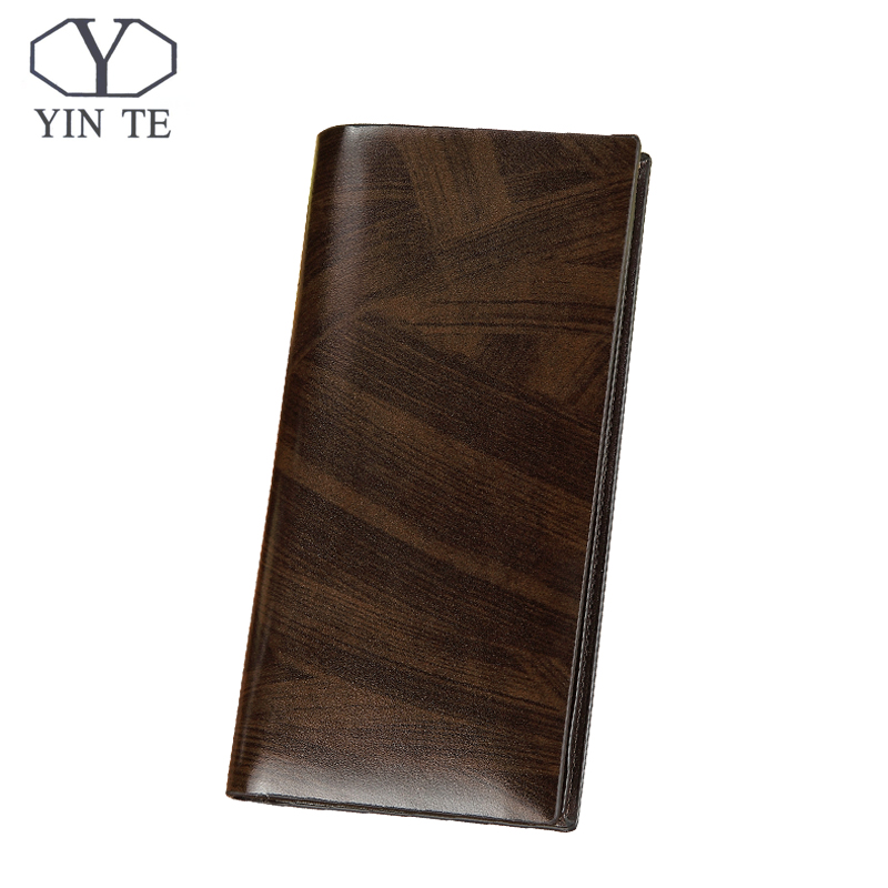 YINTE Fashion Wallet Leather Men Wallet Long Brown Bag Men Purse High Quality Male Card Holder Wallet Portfolio W8841A j m d hot sale high quality classic brown real leather mini wallet purse key case men s hand bag cartera freeshipping 8023b