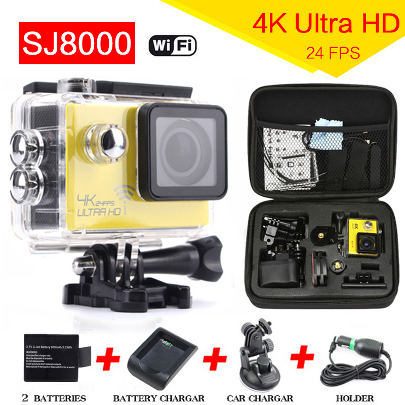 Yagoo New 4K Action camera  WiFi 2 inch Extreme Sports video camera DV NOVATEK NT96660 waterproof helmet mini cam