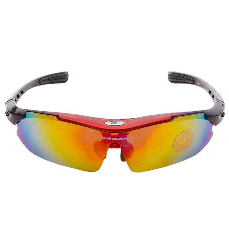 Prix pour ROBESBON Marque Ski Lunettes Anti-UV Vélo Ski Lunettes Hommes En Plastique Lunettes De Sport Vélo lunettes de Soleil Femmes Équitation Lunettes