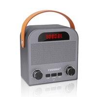 Altavoz Bluetooth inalámbrico 4 2 FM888 con tarjeta FM TF entrada auxiliar 2000mAh batería para teléfono|Altavoces de estantería| |  -