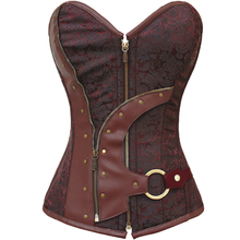 Gothic Steampunk bustier corset clothing corsets waist trainer slimming shaper body shapers control
