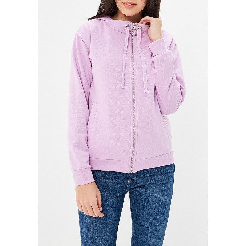 Hoodies & Sweatshirts MODIS M181W00464 woman hooded jumper sweater cotton for female TmallFS a66 men s autumn winter wear slim velvet like hooded sweater black xl