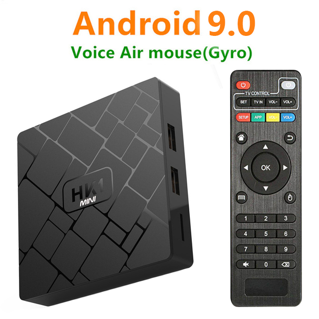 Android 9.0 Smart TV BOX RK3229 2G 16G TRUYỀN HÌNH 4 K 2160 P 3D Wifi đa phương tiện play Store Netflix Youtube IPTV Set Top Box