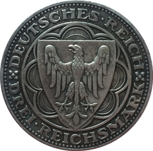 1927 German 3 Reichsmark (100th Anniversary of Bremerhaven - A) coins COPY FREE SHIPPING 30mm