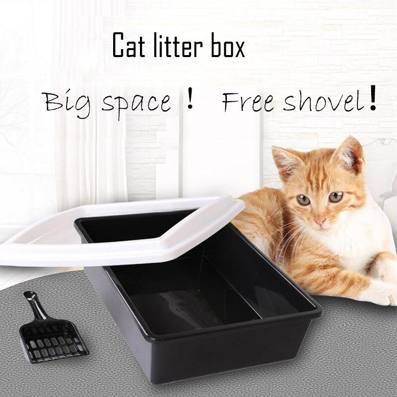 Закрытых животное кошка Beatles туалет близко кошачьих туалетов коробка котенок кошки Bedpans обучение животное WC код лоток