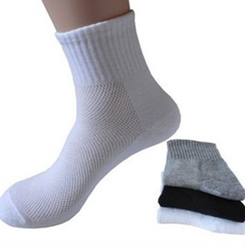 10 Pairs New Men Women Spring And Summer Net Hole Style Socks Sports Cotton Ankle Socks