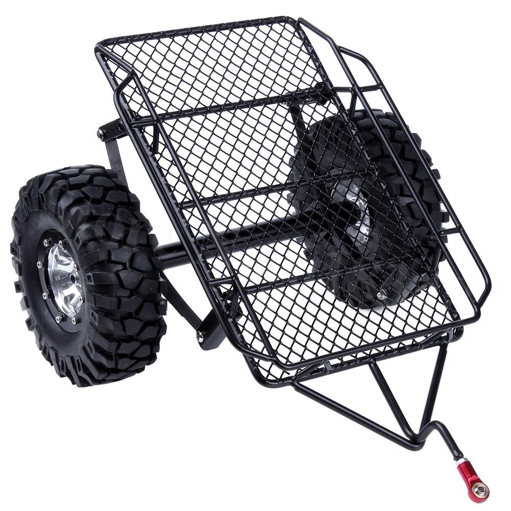 Metal Trailer Hopper Frame For 1 10 RC Crawler Truck Trail Traxxas TRX 4 TRX4 Axial