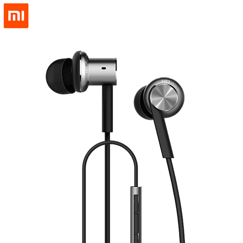 Original Xiaomi Hybrid Earphone Mi In-Ear Earphone Multi-unit Circle Iron Mixed Piston 4 for iPhone Xiaomi Samsung huawei phone original xiaomi xiomi mi hybrid earphone 1more design in ear multi unit piston headset hifi for smart mobile phone fon de ouvido