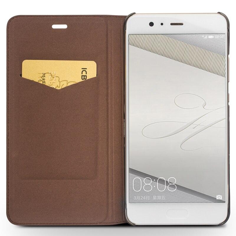 QIALINO BARU Kasus untuk Huawei Ascend P10 ditambah Mewah Kulit Asli - Aksesori dan suku cadang ponsel - Foto 2