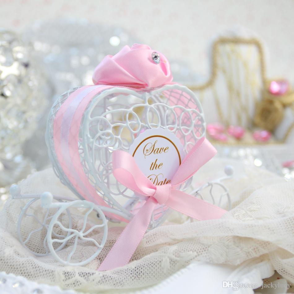 36 x Europe Creative Tin Birdcage Favor Boxes Small Bell Wedding ...