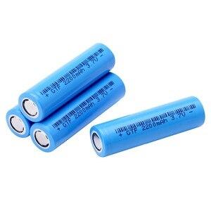 Image 4 - 20PCS 3.7V 2200mAh Original 18650 rechargeable li ion Battery For Flashlight electronic cigarette Power battery batteries