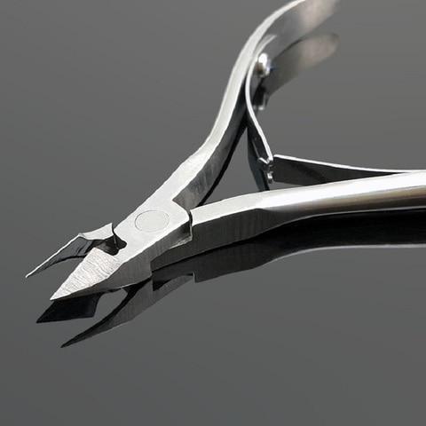 1 pcs ferramentas unhas tesoura clipper cuidados com os pes pedicure removedor de cuticula nipper