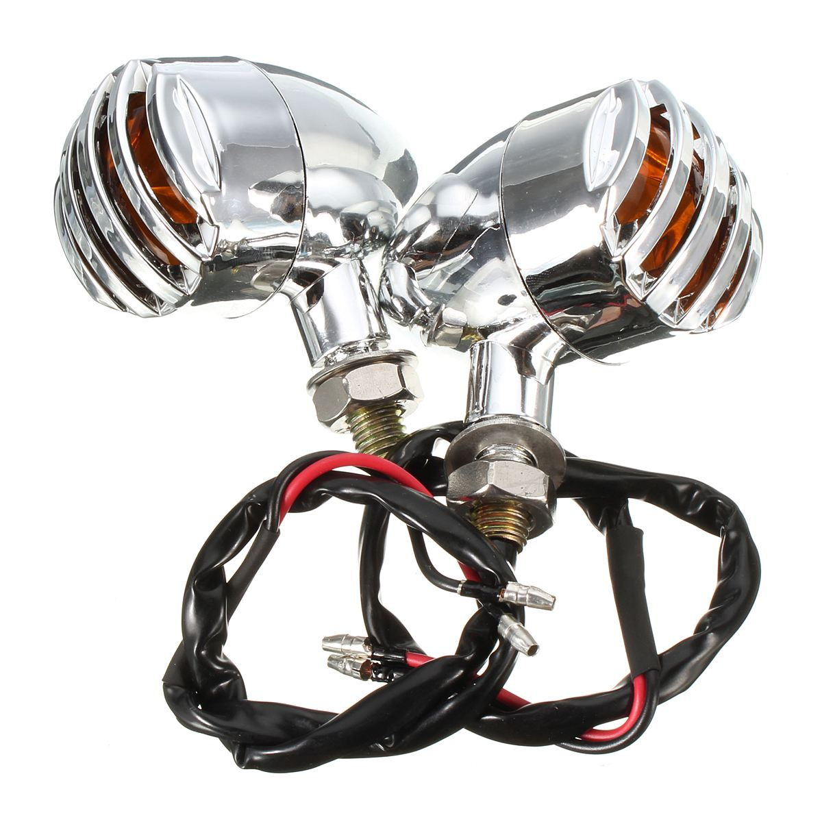 lowest price Newest 2PCS 80W 6000LM 6500K  T6 LED Motorcycle Boat Spot Driving Headlight Motorbike Fog Head Light Lamp with Switch