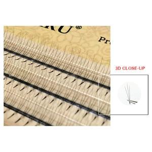 Image 5 - NAGARAKU pestañas postizas individuales, pestañas voluminosas, 10 cajas, lote de 0,07c 2D 6D hechas a mano, pestañas naturales de alta calidad, abanicos prefabricadas