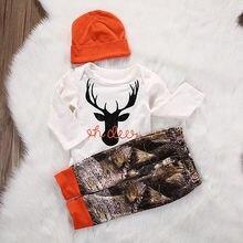 Autumn Baby Boy Clothing Set 3pcs