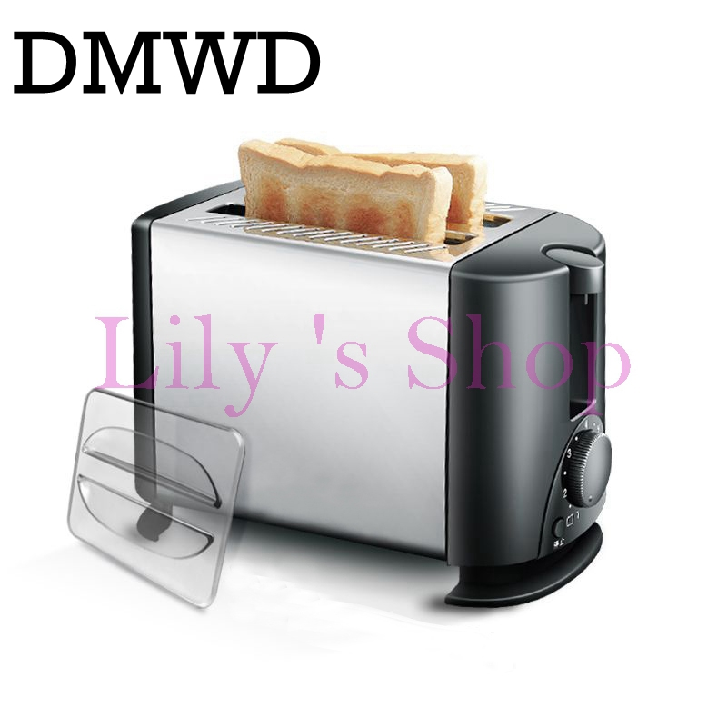 Household Baking breakfast maker electrical toaster Cooker bread Breakfast baking Machine 2 slices pieces Europen style US plug cukyi 2 slices bread toaster household automatic toaster breakfast spit driver breakfast machine