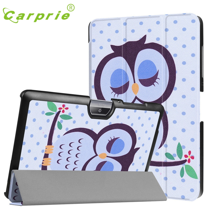 CARPRIE Folding Stand Case For Acer Iconia 10inch Painted Leather Tablet Case Cover For Acer Iconia One 10 B3-A30 Tablet Mar27