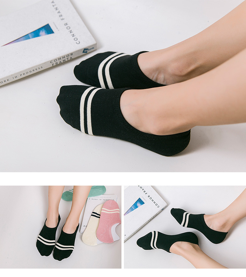 HTB1I6QTRFXXXXXNXVXXq6xXFXXXY - comfortable cotton girl women's socks ankle low female invisible color girl boy hosiery ladies boat sock slipper 1pair=2pcs WS97