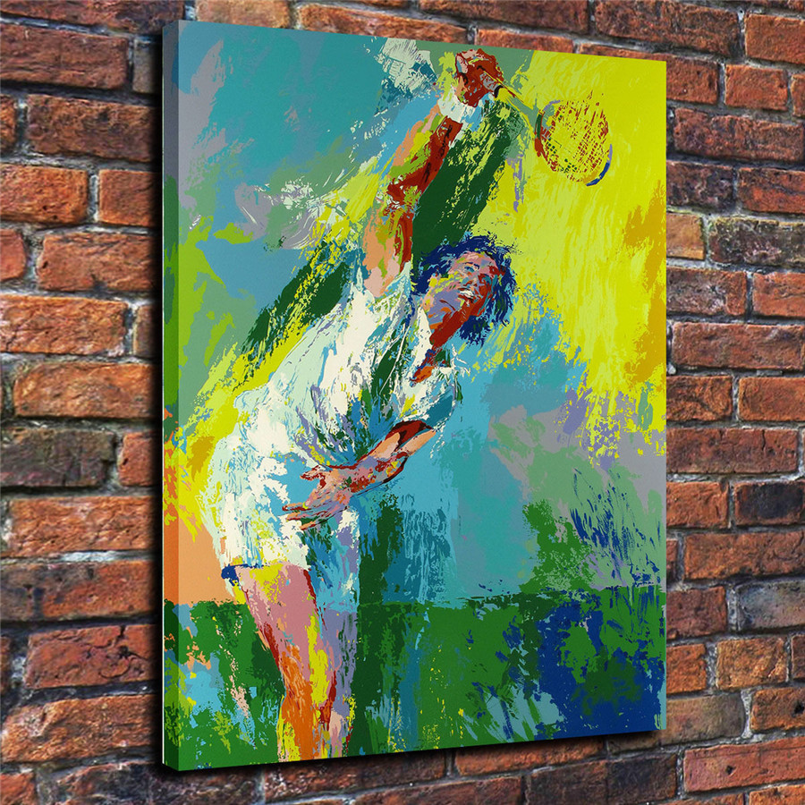 LeRoy Neiman Music and Sports Event Color Print Canvas Painting Living Room Bedroom Home Decor Modern Mural Art Oil Painting#008