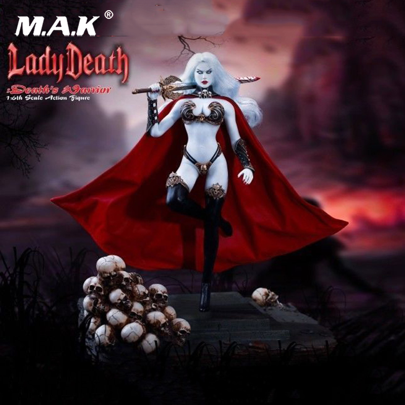 TBLeague PL2017-104B 1:6th Lady Death Deaths Warrior Model V2 without Base Collectible Action Figure Doll