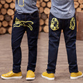 The New Year, the boy jeans, children wear fashionable style and high quality kids jeans, boys jeans, boy inkjet jeans