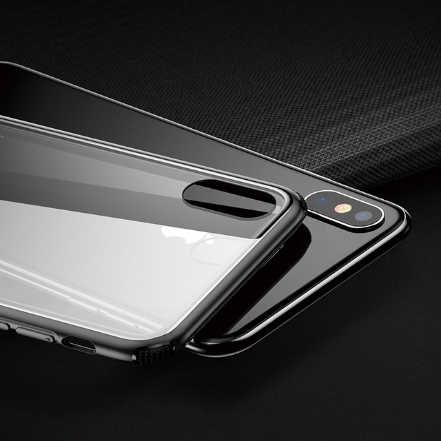 iPhone Case with Tempered Glass