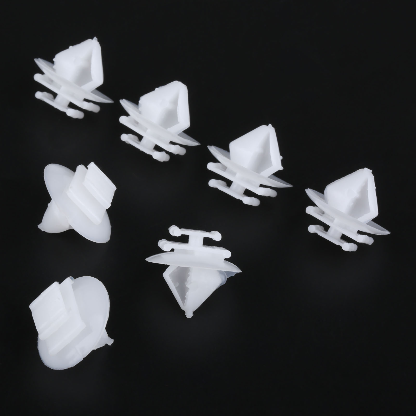 50Pcs D-150 Door Trim Clips Panel Mounting Holder New Elysee Auto Interior Fastener Clip Fit For Citroen Peugeot 206