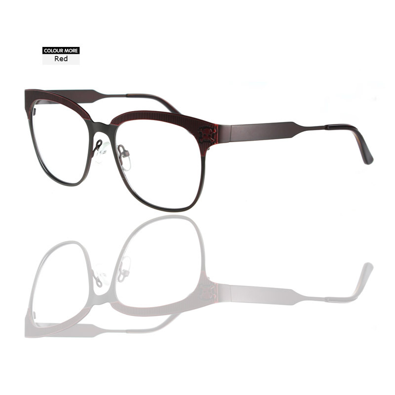 ①2018 new design lady style myopia optical frames women,fresh look ...