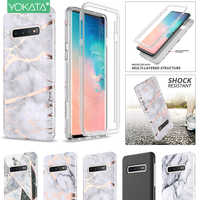 Soft Case for Samsung Galaxy S9 Plus A50 360 Case 2 in 1 Shockproof Bumper with Built-in Screen Protector for Samsung S10e