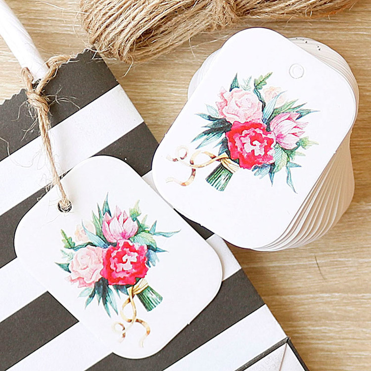 flower paper tag (2)