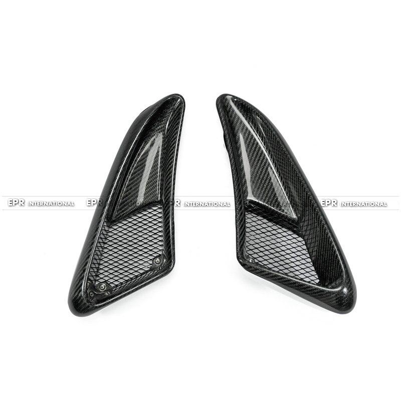 Для Porsche 2006 2012 cayman 987 Boxster S EP Стиль углерода Волокно боковые вентиляционные волокна воздуховод Интимные аксессуары racing отделка стайлинга авт