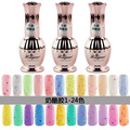N-94,(Color NO.01-NO.24) New Top Quality 15ml Beauty CHEESE UV Gel Polish Soak off Decals Nails Manicure Art Lacquer