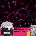 6 видов цветов  сценический свет  светодиодный движущаяся головка  пульт дистанционного управления  СВЕТОДИОДНЫЙ Магический шар  лампа  MP3  DJ...