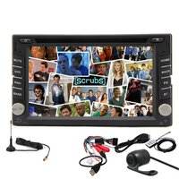 Double 2 Din Android 4 2 GPS Car Stereo Radio DVD Video Player Digital TV BT