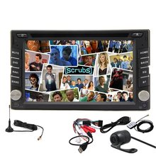 Double 2 Din Android 4.2 GPS car Stereo Radio DVD Video Player Digital TV+BT+RDS+Wifi+Camera In-Dash Car PC Audio Head Unit