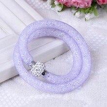 Crystal Mesh Wire Bracelet