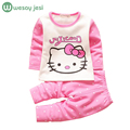 Autumn winter baby Clothes 2pcs Cotton newborn Winter baby boy girl clothes set cartoon cow pullover infant clothing pajamas