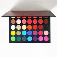 Beauty Glazed 35 Color Studio High Gloss Matte Eye Shadow Makeup Eyeshadow Palette Sailor Moon Makeup