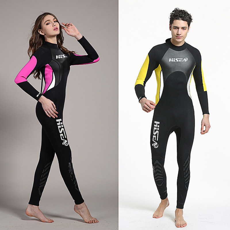 89d3a80c817 Couple s Wetsuit 3mm Neoprene Wetsuit Full Wetsuits Keep Warm Adult Youth  Girls Wet Suits One Piece Swimsuit Men s or Women s