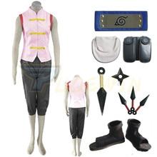 купить Anime Naruto Shippuden Tenten 1st Cosplay Costume Full Set по цене 4754.58 рублей