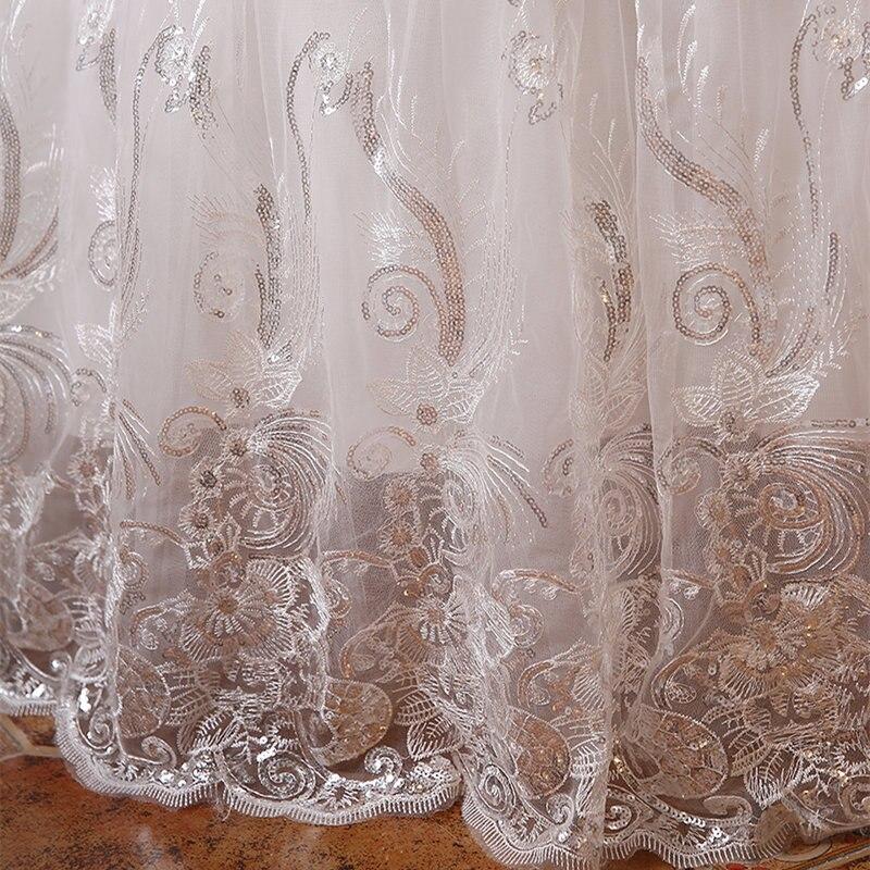 2017 Custom Made Real Photo Plus mărime Sequins rochii de mireasa - Rochii de mireasa - Fotografie 6