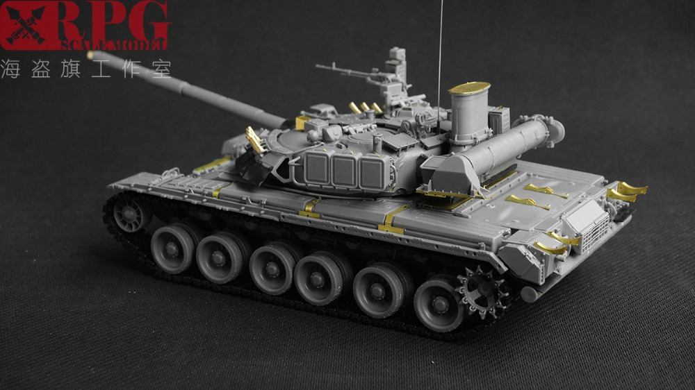 US $44 5 |RPG Model 1/35 35001 Russian MBT T80U-in Model Building Kits from  Toys & Hobbies on Aliexpress com | Alibaba Group
