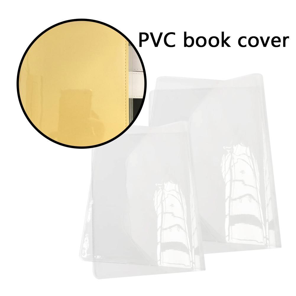 New DIY Transparent PVC Cover Book A5 A6 2019 New School Office Supplies Gift 1 Sheet