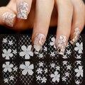 2015 Nuevos Estilos Diferentes de Encaje Crystal Nail Art Salon Consejos Sticker Decal Completa Wraps DIY Decoraciones 6F8G
